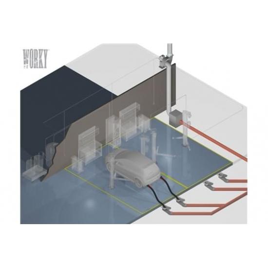 Grindinės dujų surinkimo sistemos
