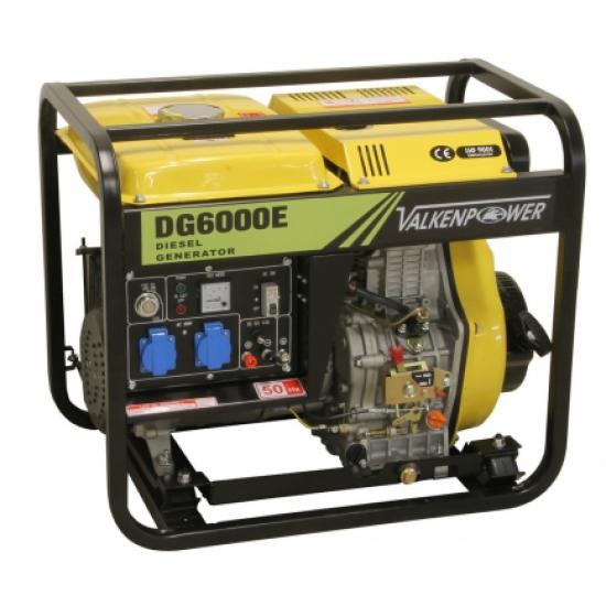 Dyzelinis elektros generatorius 230V 5.5 kW