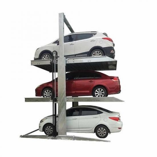 Trijų vietų parkingo keltuvas int-2 post-triple