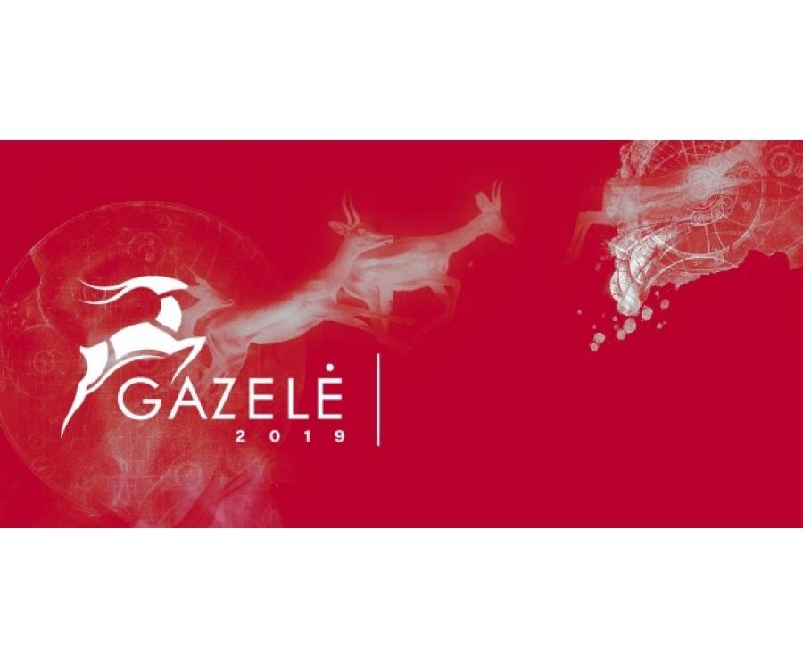 """""""Gazelės 2019"""" apdovanojimas - sparčiausiai augusioms įmonėms"""