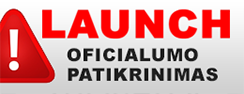 Launch patikrinimas